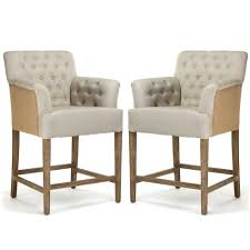 awesome and cozy counter height stools for bar decor idea white with tufted armset counter