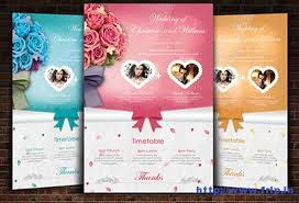 Wedding Invitation Flyer Template - Tier.brianhenry.co