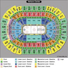 Verizon Center Seating Chart For Hockey Capitals Seating Chart Seating Chart