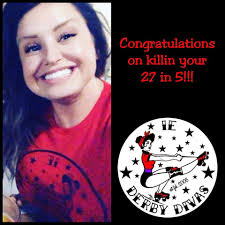 IE Derby Divas - Congratulations Kylie on killin your 27...   Facebook