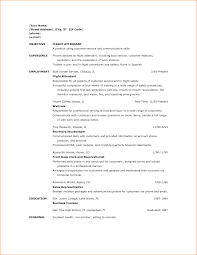 Flight Attendant Resume Sample With No Experience Lovely Resume No