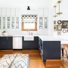 modern farmhouse kitchen design. Mid-sized Farmhouse Open Concept Kitchen Remodeling - Open  Mid-sized Modern Design