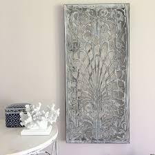 decorative rectangle metal wall panel garden art screen