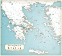 ancient greek maps and geographical references  lillian lemoning