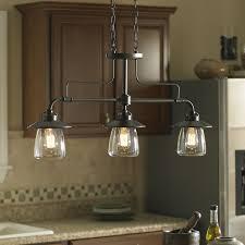 image kitchen island light fixtures. Allen Roth Bristow 36in W 3Light Mission Bronze Kitchen Island Light Image Fixtures D