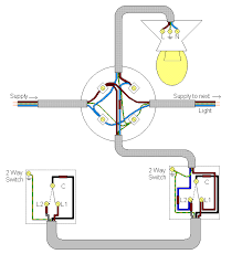 2 way wiring diagram for a light switch wiring diagram and wire a ceiling fan wiring a hall and landing light diagram