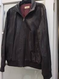 marks and spencer collezione finest luxury leather jacket