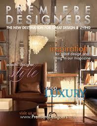 Dark Premiere Designers Magazine Premiere Designers Announces New Interior  Shelter in Interior Design Magazine