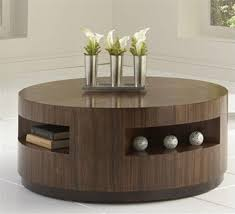 round coffee table with drawers 30 pictures