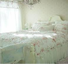 amazing vintage red rose princess bedding set fl cotton girls duvet vintage bedding sets remodel