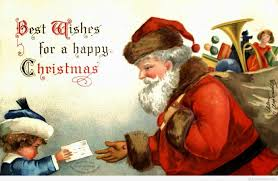 santa claus merry christmas eve quote