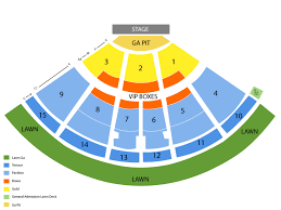Pnc Music Pavilion Charlotte Seating Chart And Tickets