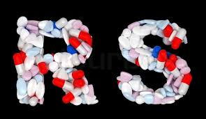 Pharmacy Letter Inspiration Pharmacy Font R And S Pills Letters Stock Photo Colourbox