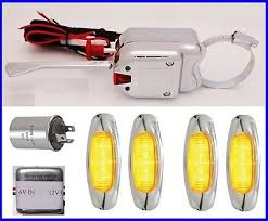 volt positive ground turn signal switch amber led turn park 6 volt positive ground turn signal switch 4 amber led turn park lights mopar