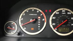 2006 Honda Crv Warning Lights Maintenance Required Reset Honda Cr V