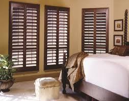 wood plantation shutters images