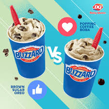 Next time you place an order for one, ask them to make it with coffee syrup to make a delicious dq coffee blizzard. Dairy Queen S Coffee Blizzards Easter Egg Dilly Bars Are Available For Delivery