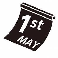5月1日シルエット イラストの無料ダウンロードサイトシルエットac