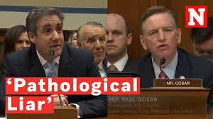 Paul Gosar Calls Cohen A 'Pathological ...