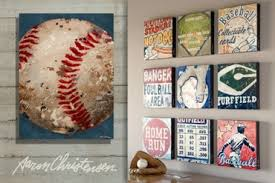 sell vintage sports art in baseball theme on vintage sport wall art with sports wall art for boys teens and home decor ideas and tips
