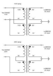 building a gainclone chip amp power supply transformer wiring diagram