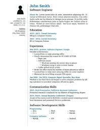 How To Write Curriculum Vitae Gorgeous Sample Cv And Resume Resume Text Format Latex Templates Curricula