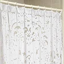 white lace shower curtain. 42 Best Shabby Chic Shower Curtains Images On Pinterest | Lace . White Curtain I