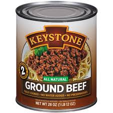 fully cooked ground beef. Interesting Cooked Keystone Ground Beef 28 Oz To Fully Cooked Beef F