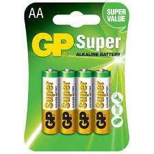 ROZETKA | <b>Батарейка GP Super Alkaline</b> 1.5 V LR6 AA 4 шт. (15A ...
