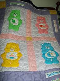 Vintage Care Bear fabric | Care bears, Bears and Vintage & Vintage Care Bear Quilt...I would have so loved this when Brandon was Adamdwight.com