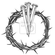Fototapeta Koruna Trní Nehty Velikonoční Náboženský Symbol Křesťanství