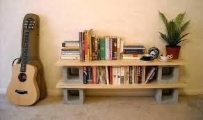 cinder block and wood shelves image of painted cinder block shelves wooden blocks wood bench cinder