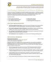 Executive Summary Resume Example New 18 Best Non Profit Resume