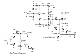 wiring diagram for guitar effects wiring image guitartech frequency brighteners guitar effect schematic on wiring diagram for guitar effects