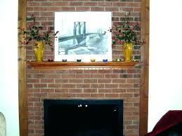 red brick fireplace living room ideas with red brick fireplace red