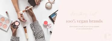 plete list of 100 vegan makeup skincare brands
