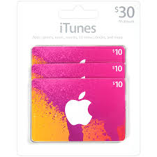 apple itunes 30 multi pack gift card1 0 ea