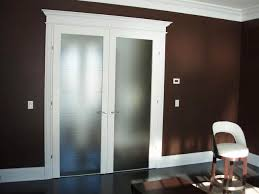 Interior frosted glass door Pine White Interior French Doors With Frosted Glass Intended For Ideas Nepinetworkorg Frosted Glass Doors With French Design Styles Also Black Painted For