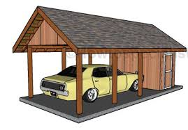 these are very detailed plans to help you build a single carport with a storage section not only will this protect your car but it will also give you an