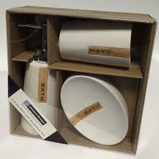 Bathroom Gift Showerdrape Reno Bathroom Gift Set 3 Piece Set From Palmers