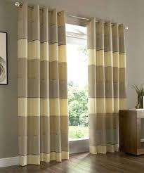 ... Strikingly Idea Horizontal Striped Curtains Stripe Curtain Home Design  ...