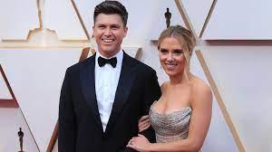 Scarlett Johansson & Colin Jost Welcome ...