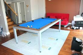rug under pool table pool table rug pool dining tables with nice gray rug and blue