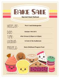 Bake Sale Flyer Templates Free Bake Sale Flyer Worldlabelcom Free Printable Bake Sale