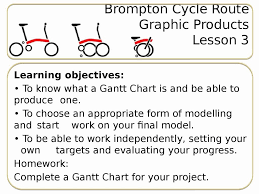 Gantt Chart Lesson Brompton Bicycle Graphic Products Cycle Route Stem