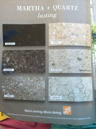martha stewart quartz countertops from home depot there s no place throughout snazzy home depot quartz