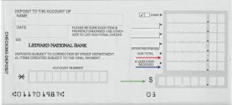 deposit slip examples living stingy deposit slips