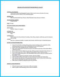 Magnificent Resume Coaching Duties Contemporary Entry Level