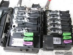 ford galaxy battery junction box auxiliary fuse box repair and the