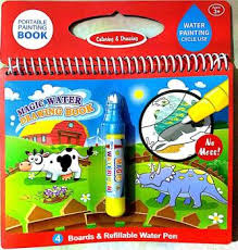 cool play Reusable Magic Water Drawing Book ... - Flipkart.com